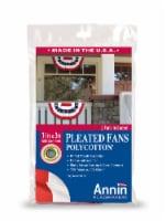 Annin Flagmakers American Pleated Mini Fan - 2 Pack
