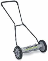 American Lawn Mower Deluxe Push Mower - Silver - 18 in