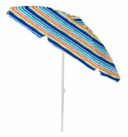 COPA Striped Tilted Umbrella