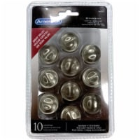 Amerock Inspirations 3 Ring Cabinet Knob - Satin Nickel - 10 pk