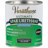 Varathane® Water-Based Crystal Spar Urethane Gloss Finish - 1 qt