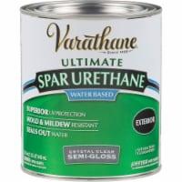 Varathane® Semi-Gloss Clear Water-Based Spar Urethane - 1 qt