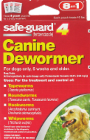 8 In 1 Safeguard 8 in Large Dog Dewormer