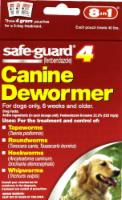 Safeguard 4 Dog Canine Dewormer