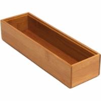 Lipper International 3 x 9-Inch Wood Stacking Drawer Organizer Box, Pair of 2 - 1 Unit