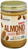 Woodstock Farms Unsalted Creamy Almond Butter