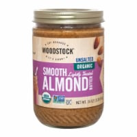 Woodstock Unsalted Organic Smooth Lightly Toasted Almond Butter - 1 Each 1 - 16 OZ - 16 OZ