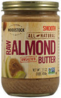 Woodstock Raw Unsalted Almond Butter