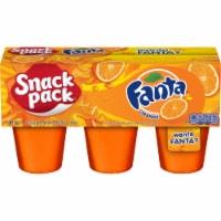 Snack Pack Fanta Orange Juicy Gels Cups - 6 ct / 3.25 oz