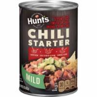 Hunt's Seasoned Diced Tomatoes in Sauce - 15 oz