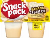 Snack Pack Banana Cream Pie Pudding