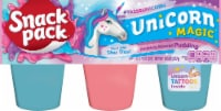 Snack Pack Unicorn Magic Assorted Pudding Cups - 6 ct / 3.25 oz
