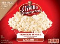 Orville Redenbacher's Tender White Popcorn Bags 6 Count