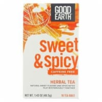 Good Earth - Tea Sweet & Spicy Chai - Case of 6 - 18 CT