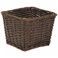 Redmon Small Willow Basket - Espresso