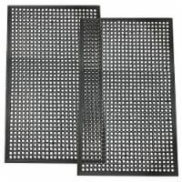 Buffalo Tools 3 x 5 Foot Industrial Rubber Floor Mat - 2Pk - 1
