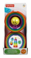 Fisher-Price® Brilliant Basics Stack and Roll Cups Toy