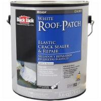 Black Jack White Roof-Patch Elastic Crack Sealer & Repair 3.6QT - 3.6 quarts each
