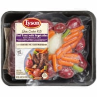 Tyson Beef Roast with Vegetables Slow Cooker Kits