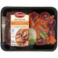 Tyson Pork Roast with Vegetables Slow Cooker Kits