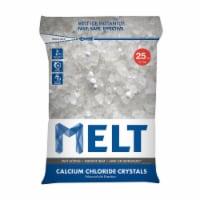 USOL F025PH 25 lbs Calcium Chloride Flake Bag