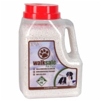 Walk Safe for Pets WS681J 8 lbs Pet Ice Melting Chemicals Jug