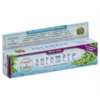 Auromere Mint-Free Ayurvedic Herbal Toothpaste