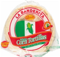 La Banderita White Corn Tortillas - 18 Count