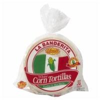 La Banderita White Corn Tortillas