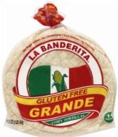 La Banderita Gluten Free Grande Corn Tortillas