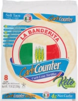 La Banderita Carb Counter Tortillas 8 Count
