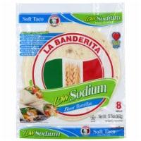 La Banderita Low Sodium Flour Tortillas 8 Count