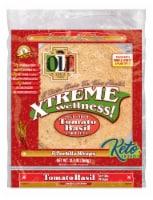Ole Xtreme Wellness Tomato Basil Tortilla Wraps 8 Count