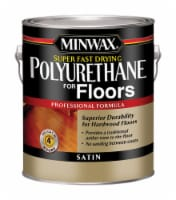 Minwax  Satin  Clear  Oil-Based  Fast-Drying Polyurethane  1 gal. - Case Of: 2; - Case of: 2