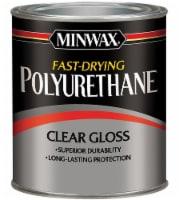 Minwax Polyurethane Fast Drying Clear Gloss - 8 fl oz