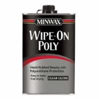 Minwax® Clear Gloss Wipe-On Polyurethane Protection - 32 fl oz