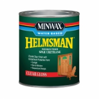 Minwax  Helmsman  Gloss  Clear  Spar Urethane  1 qt. - Case Of: 1; - Count of: 1