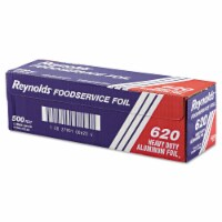 """Heavy Duty Aluminum Foil Roll, 12"""" x 500 ft, Silver 620 - Count of: 1"""