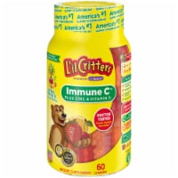 L'il Critters Immune C Plus Zinc & Echinacea Assorted Fruit Gummies 60 Count