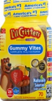 L'il Critters Gummy Vites Complete Multivitamin Gummies 70 Count