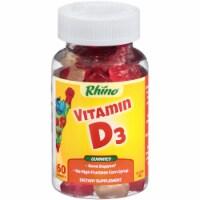 Rhino Vitamin D3 Gummies - 60 ct