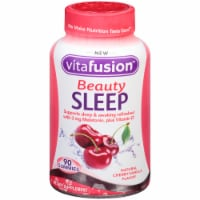 Vitafusion Beauty Sleep Natural Cherry Vanilla Gummies