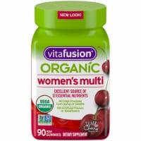 Vitafusion Organic Womens Multi Gummies 90 Count