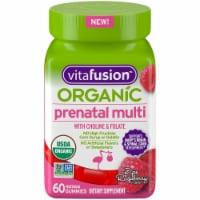Vitafusion Organic Prenatal Multi Gummies