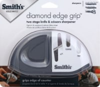 Smith's Diamond Edge Grip MAX Knife Sharpener - Gray/White