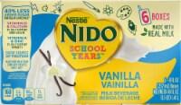 NIDO School Years Vanilla Milk  Beverage - 6 ct / 8 fl oz