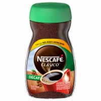 Nescafe Clasico Decaf Dark Roast Instant Coffee