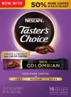 Nescafe Taster's Choice 100% Colombian Instant Coffee Packets
