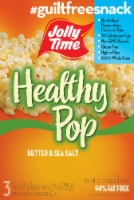 Jolly Time Healthy Pop Butter & Sea Salt Microwave Popcorn