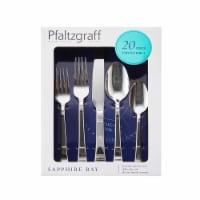 Pfaltzgraff Sapphire Bay Flatware Set 20 Piece